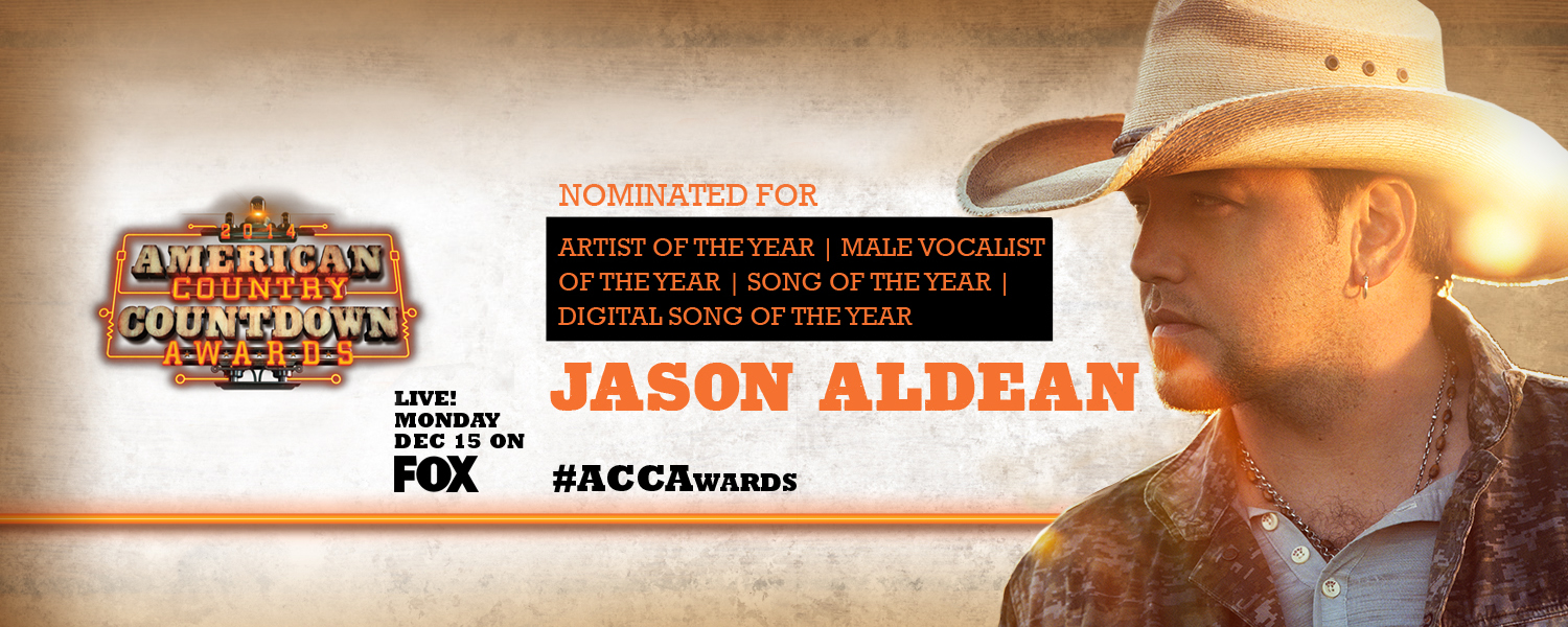 Jason Nominated for American Country Countdown Awards