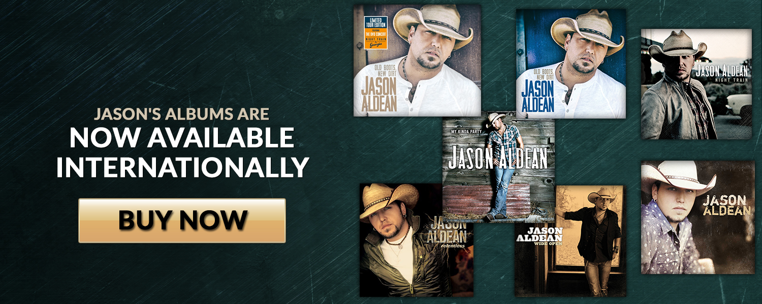 Jason's Albums Now Available Internationally