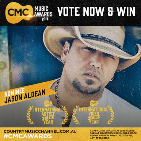 JASON NOMINATED FOR TWO AUSTRALIAN CMC AWARDS