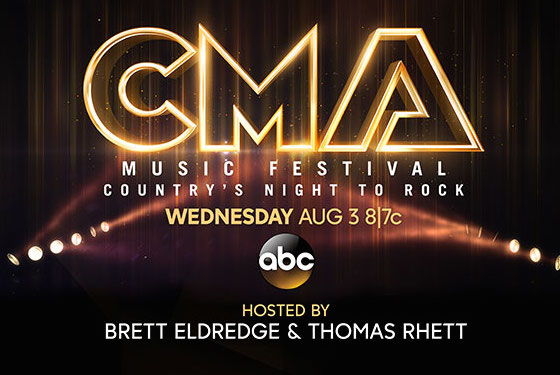 TUNE IN AUGUST 3RD: CMA FEST COUNTRY'S NIGHT TO ROCK