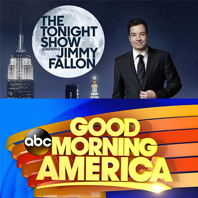 TUNE IN TUESDAY (9/13) TO SEE JASON ON GMA & FALLON
