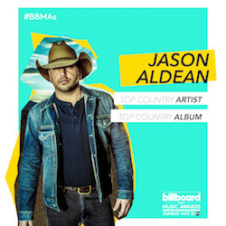 JASON NOMINATED FOR TWO BILLBOARD MUSIC AWARDS