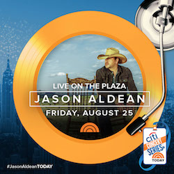 See Jason perform on the Today Show on August 25th