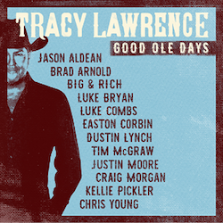 JASON ALDEAN FEATURED ON THE NEW TRACY LAWRENCE ALBUM