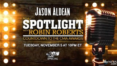 SEE JASON ON 20/20 ROBIN ROBERTS SPECIAL 11/5